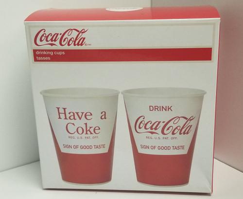 20 - Coca Cola Drinking Cups (9 oz each)