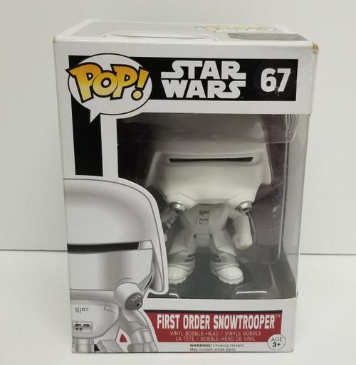 Funko POP! Star Wars First Order SnowTrooper #67