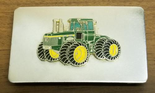 John Deere Tractor & Silver-Tone Belt Buckle
