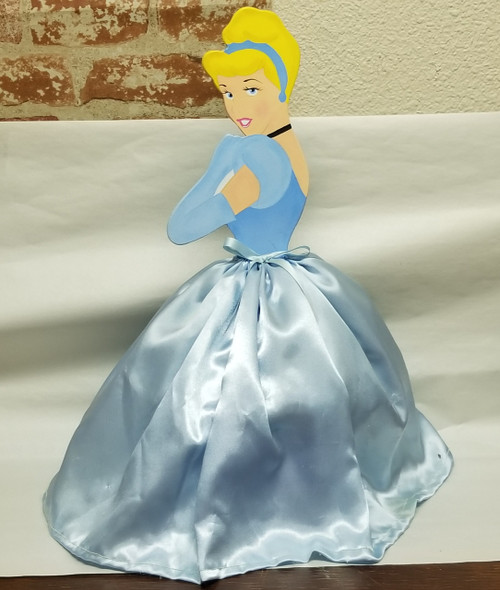 """18"""" Hand-Painted Cinderella  Cut-Out"""