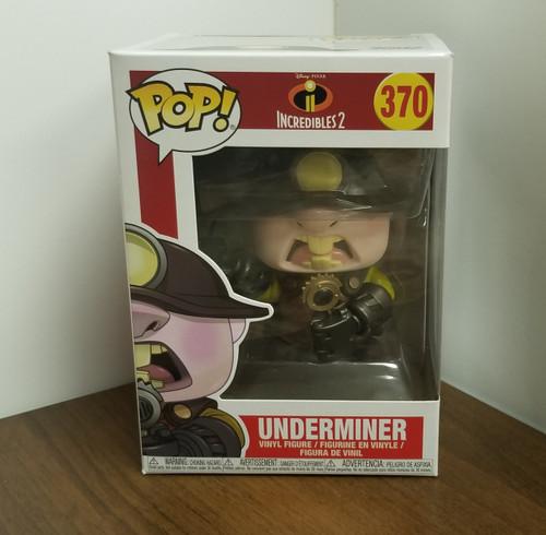 "Funko POP! INCREDIBLES  2 ""UnderMiner #370"