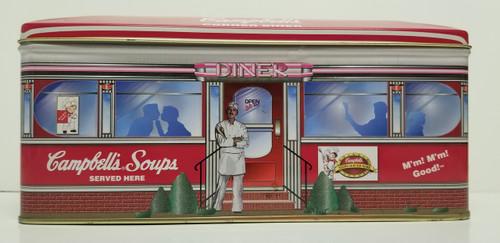 Campbell's Soups Corner Diner Tin