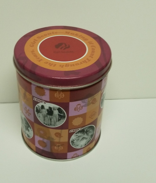 2010 Girl Scouts - Making It Count Through The Years Collectible Tin