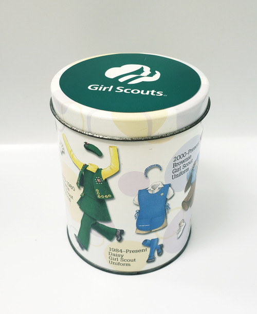 Girls Scouts Uniform Themed Collectible Tin