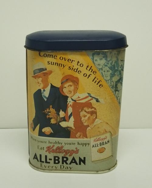 1984 Kellogg's ALL - BRAN Collectible Tin