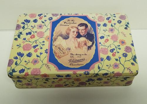 Whitman's Chocolates 150th Anniversary Hinged Keepsake Tin