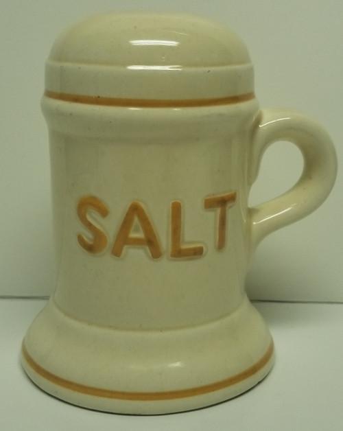 Vintage Large Salt Doom Stein-Style Shaker