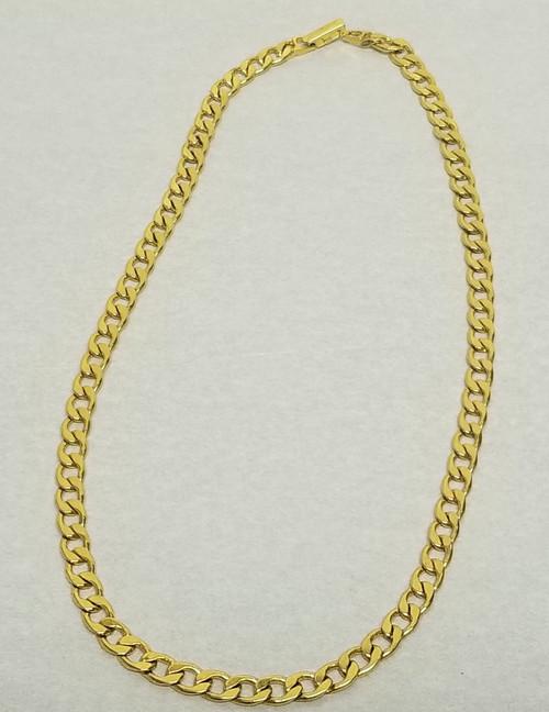 "Vintage AVON Gold Tone Chain - 18.5"""