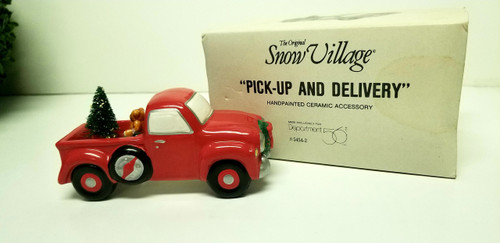 """Department 56 Snow Village """"Pick-Up AND Delivery"""""""