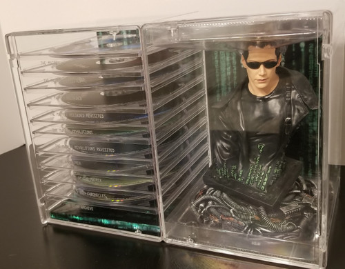 Ultimate MATRIX Collection w/ Neo Bust & Collectible 80 Page Book