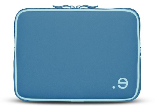 Be.ez LA Robe Sleeve Chromebook  MacBook/iPad/Laptop/ Netbook 10.2 (2Blue)