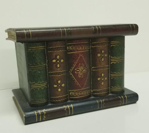 Small Faux Book Trinket Box