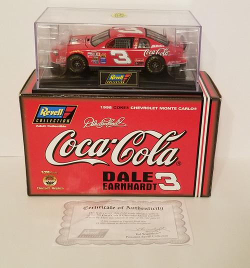 CAR 3 Dale Earnhardt LIMITED Edition Coca Cola 1:24 Scale