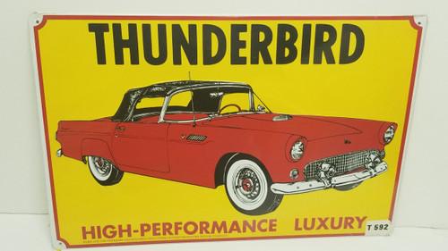 THUNDERBIRD HIGH-Performance Luxury Metal Nostalgic Sign (SEALED)
