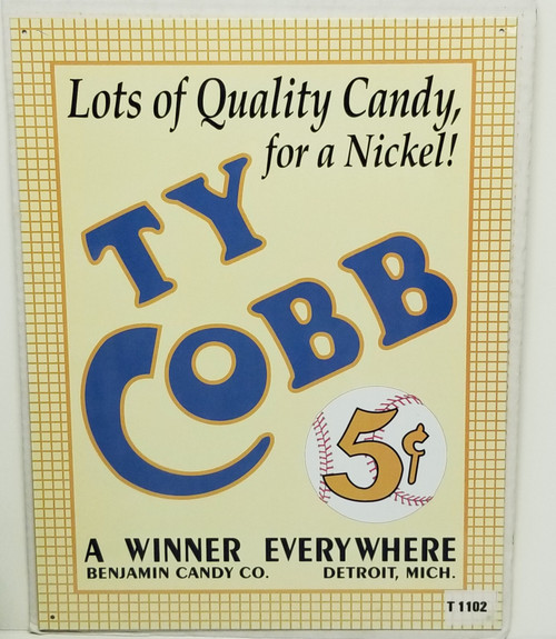 """""""TY CoBB"""" A Winner EVERYWHERE, Quality Candy Reproduction"""
