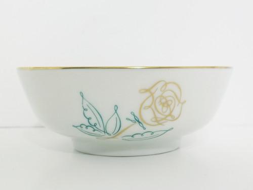"""Easterling """"Spencerian Rose"""" Fruit/Dessert Bowl"""