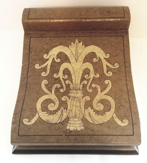 Fleur De Lis Reception Trinket/Sign-In Box