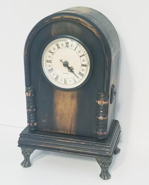 Uniquely Crafted Doomed Clock & Trinket Box - QUARTZ