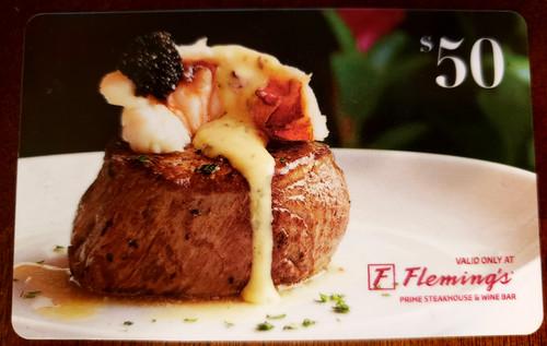 $50 Fleming's Steakhouse Gift Card