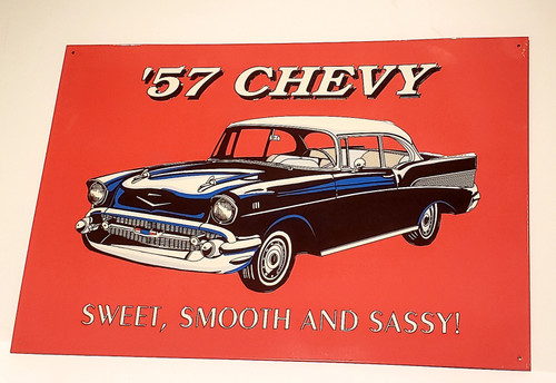 Nostalgic '57 CHEVY Sweet, Smooth AND Sassy! (Official License Product)