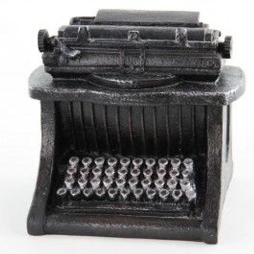 tii Collections - Resin Nostalgic Typewriter Sculpture