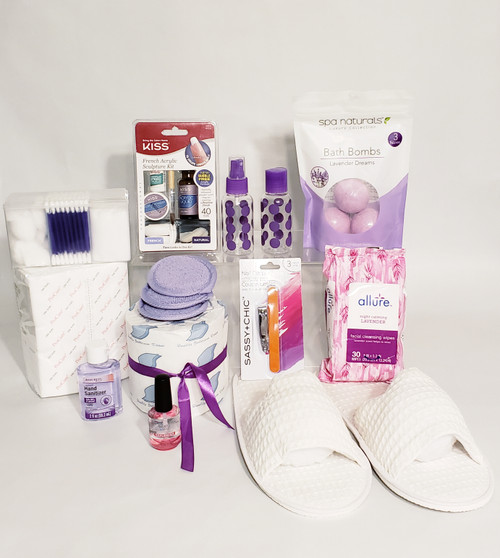 Thinking Of You - Gift Box/Birthday For Her Lavender/Purple Tones
