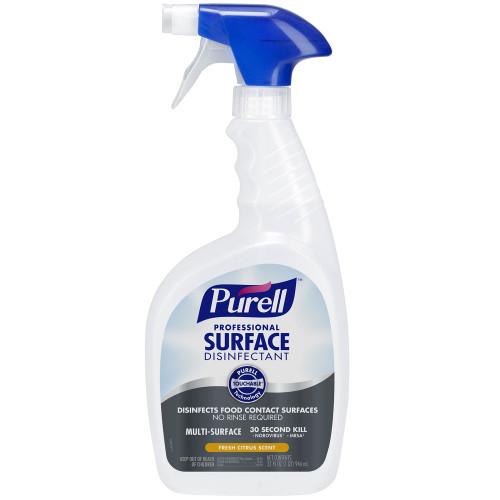 Purell® Professional Surface Disinfectant, Fresh Citrus, 32 Oz