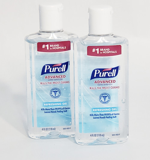 PURELL® Advanced Refreshing 4 oz. Gel Hand Sanitizer (2 Pack)