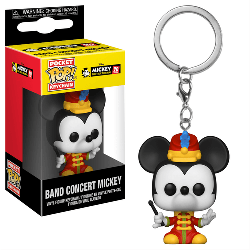 Band Concert Mickey | 90 Years Funko Pop Keychain
