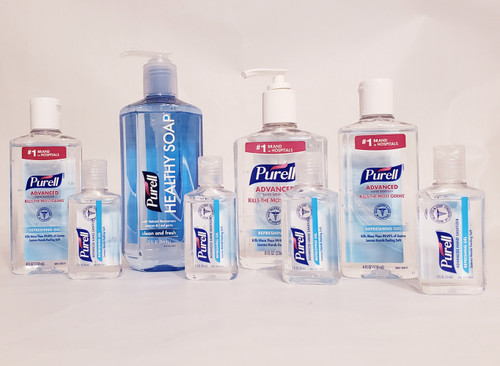 PURELL®  8 | Hand Sanitizers and Healthy Soap | Clean & Fresh