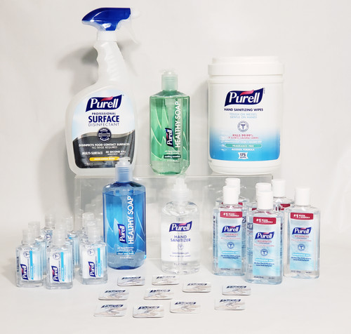 PURELL®  Products For Home | Office | School | On-The-Go Large Essential Kit