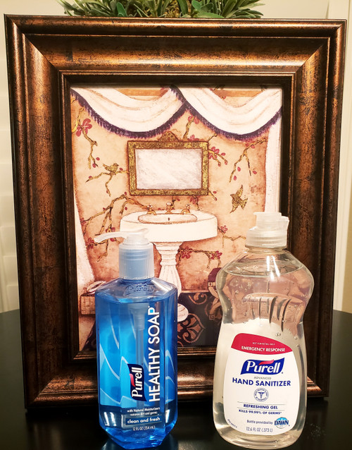 Purell Healthy Soap & Hand Sanitizer | Clean and Fresh Refreshing Gel
