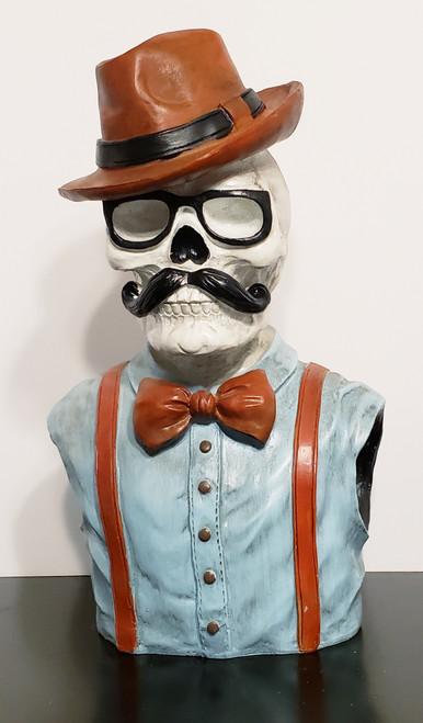 Hipster Skeleton Bust