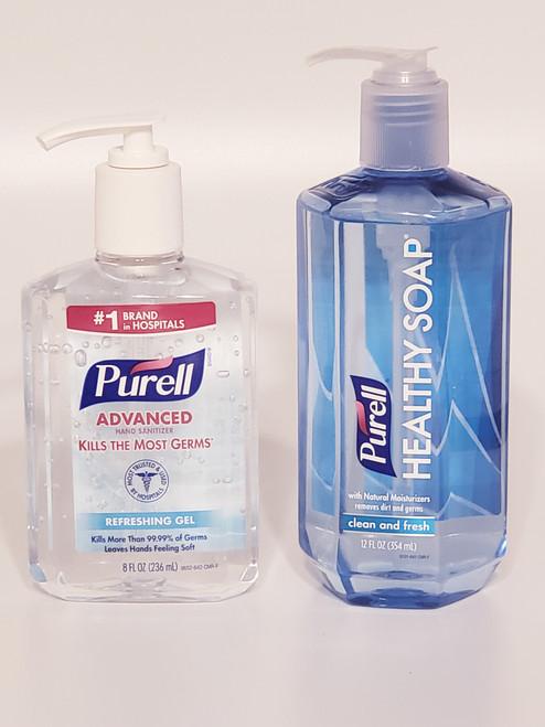 PURELL®  Healthy Soap & Hand Sanitizer Set | Clean &  Fresh | Refreshing Gel