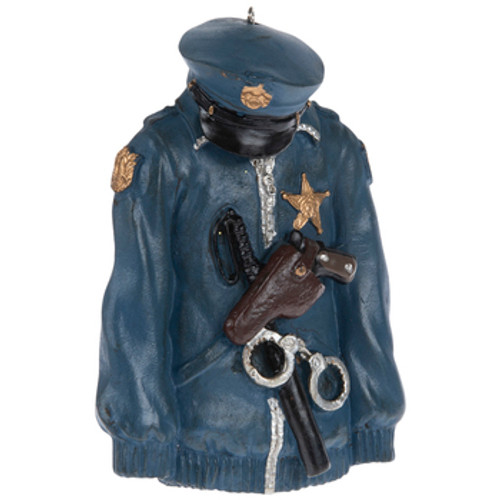 Police Jacket Ornament