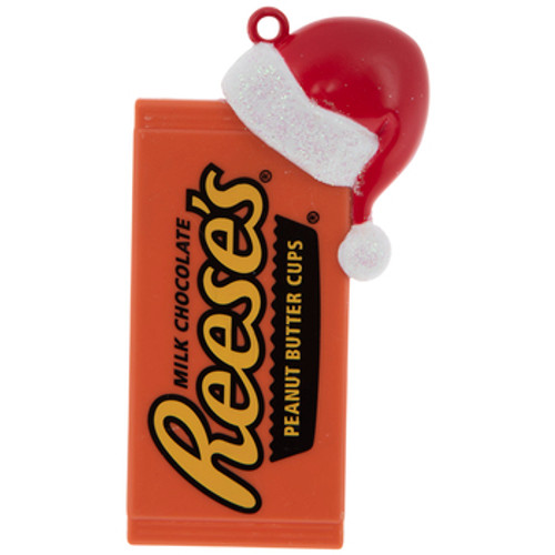 Reese's Candy Santa Hat Ornament
