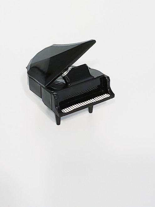 Grand Piano Christmas Ornament (Black)