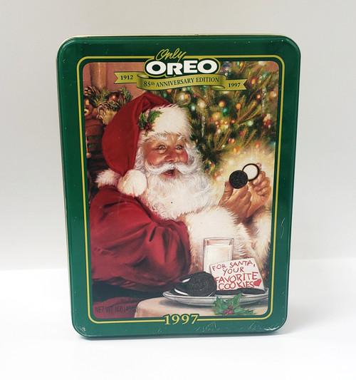 "1997 ""Only Oreo"" 85th Anniversary Edition Christmas Tin"