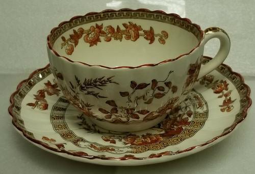 "Copeland Spode ""India Tree"" Cup & Saucer"