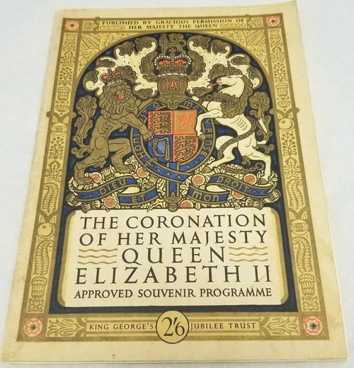 The Coronation of Her Majesty Queen Elizabeth II - 1953