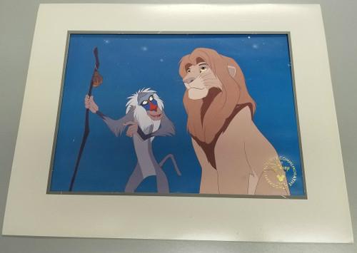 "Disney's ""The Lion King"" 1995 Commemorative Lithograph"