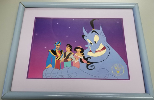 """Disney """"Aladdin And The King Of Thieves"""" 1996 Lithograph"""