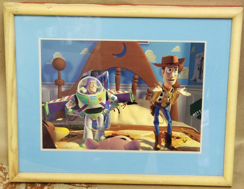 """Disney """"Toy Story Buzz & Woody"""" Commemorative Lithograph"""