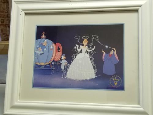 "Disney ""Cinderella"" 1995 Exclusive Commemorative Lithograph"