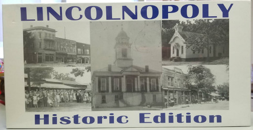 LincolnOpoly - Historic Edition (New-Sealed)