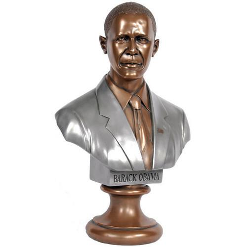 United States of America 44th President Barack Obama Bronze-Tone Large Bust