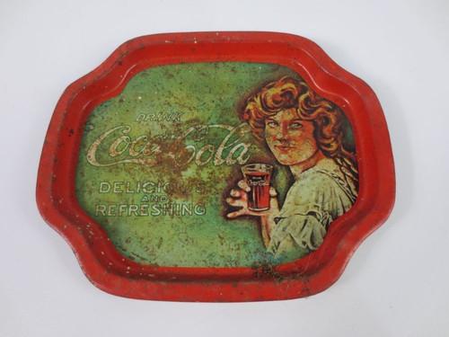 """Coca Cola Tin Tray 8"""" -"""