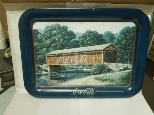 """Coca Cola """"1905 Summer Bridge"""" Tray"""