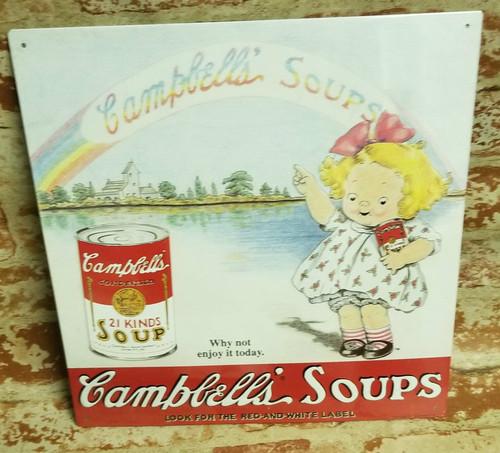 Campbell's SOUPS Nostalgic Sign #10
