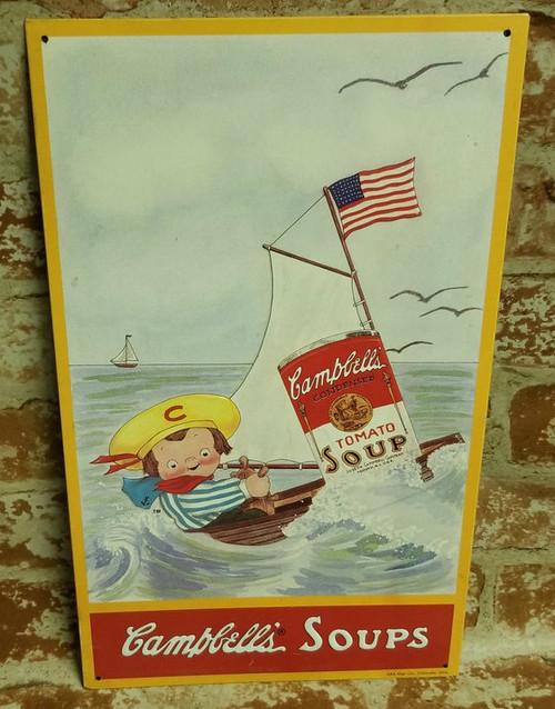 Campbell's Soups Nostalgic Sign #9